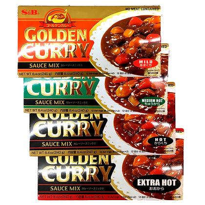 GOLDEN CURRY Mild/MediumHot/Hot/ExtraHot