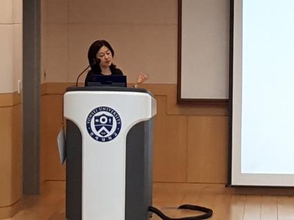 韓国延世大学医学部にて講義