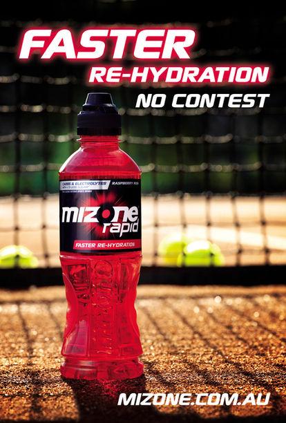 Mizone TVC shoot