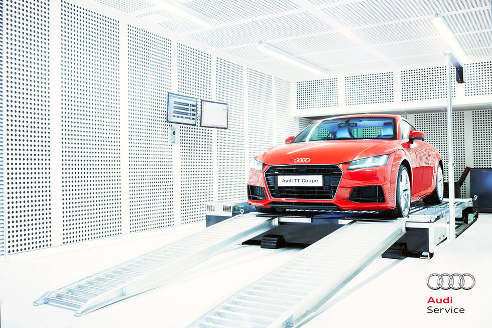 Audi Service Centre Campaign