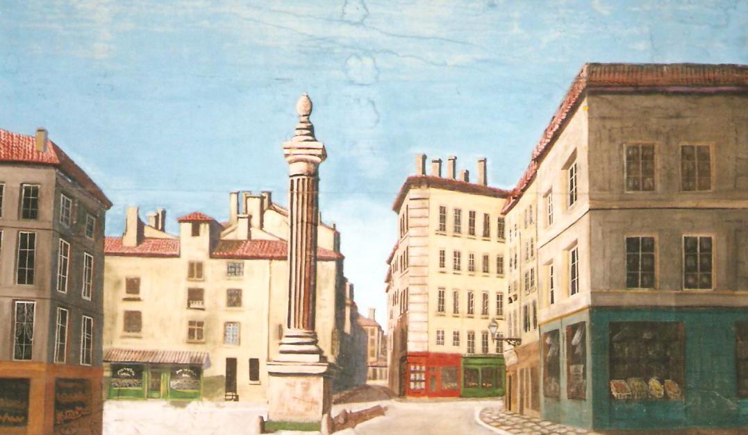 Décor Vieux Lyon