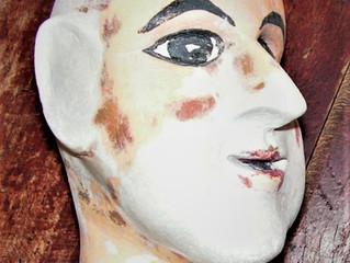 Restauration d'une tête de marionnette
