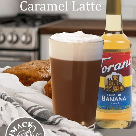Banana Bread Caramel Latte