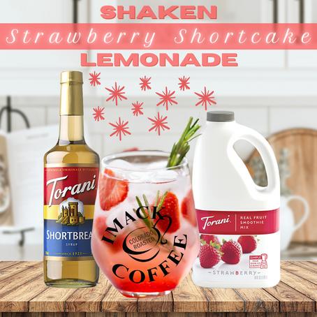 Shaken Strawberry Shortcake Lemonade