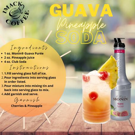Guava Pineapple Soda