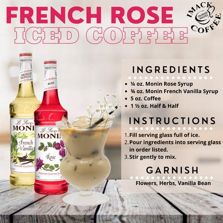 French Rose Iced Coffee🌹