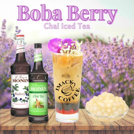 Boba Berry Chai Iced Tea