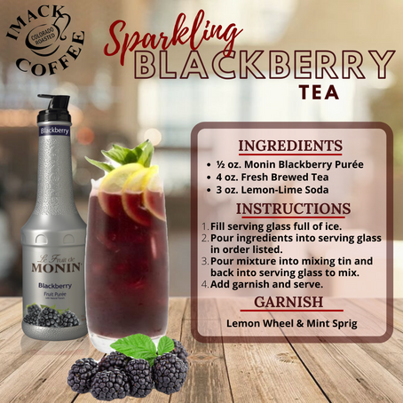 Sparkling Blackberry Tea