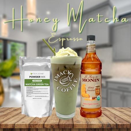 Honey Matcha Espresso
