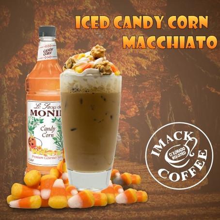 Iced Candy Corn Macchiato