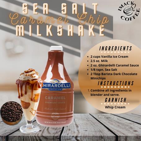 Sea Salt Caramel Chip Milkshake