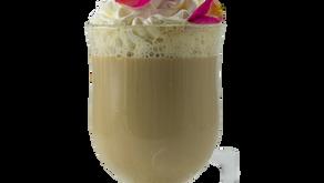 Pistachio Rose Latte
