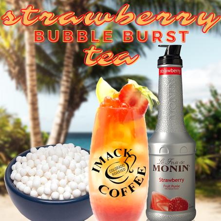 Strawberry Bubble Burst Tea