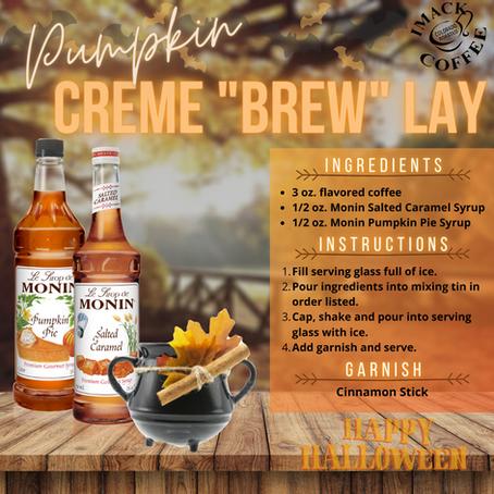 "Pumpkin Creme ""Brew"" Lay"