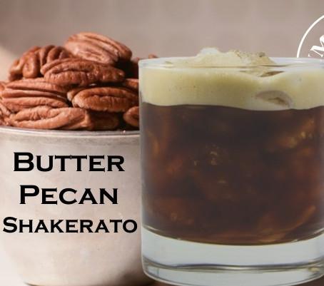 Butter Pecan Shakerato