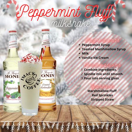 Peppermint Fluff Milkshake