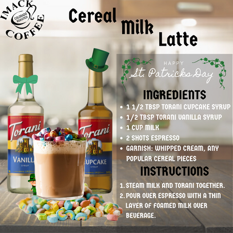 Cereal Milk Latte