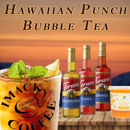Hawaiian Punch Bubble Tea