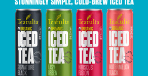 New Teatulia Products - Cold Brew Iced Tea