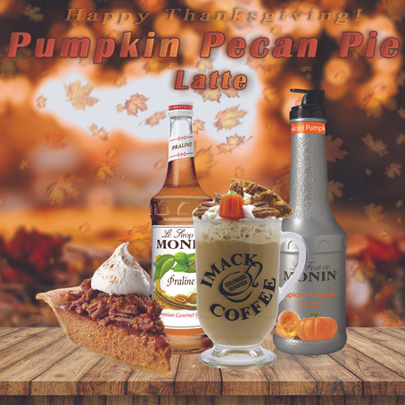 Pumpkin Pecan Pie Latte