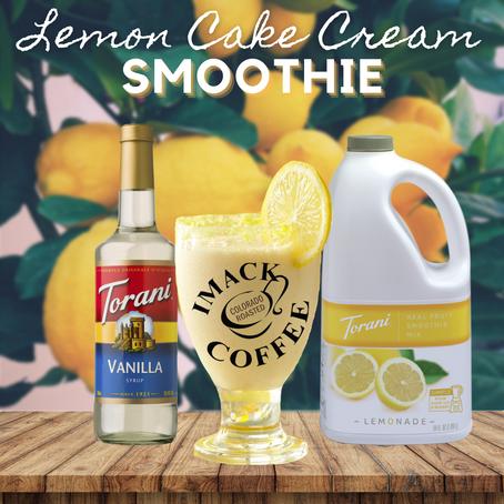 Lemon Cake Cream Smoothie
