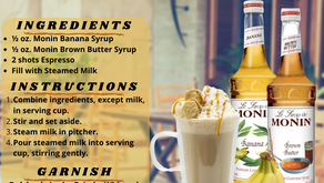 Banana Butter Latte