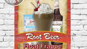 Root Beer Float Frappe