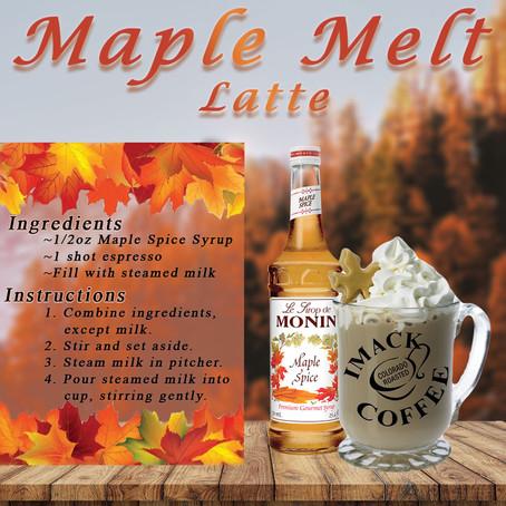 Maple Melt Latte