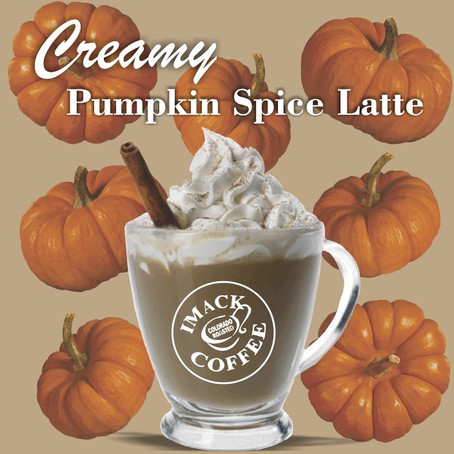 Creamy Pumpkin Spice Latte