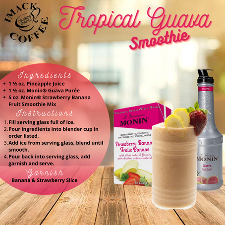 Tropical Guava Smoothie