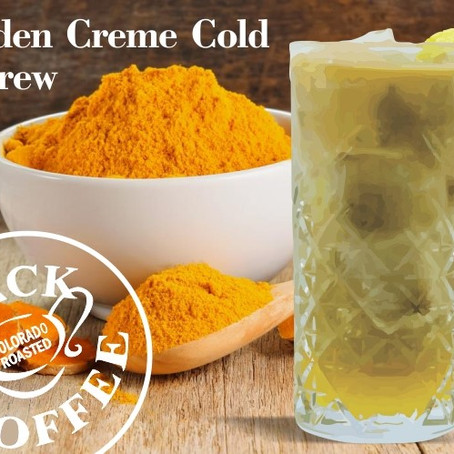 Golden Creme Cold Brew