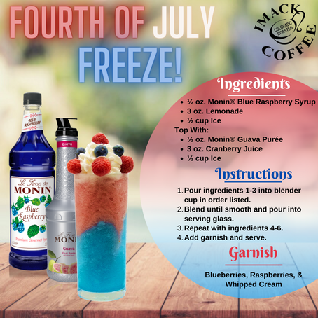 FOURTH OF JULY FREEZE!!!