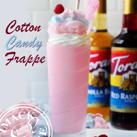 Cotton Candy Frappe