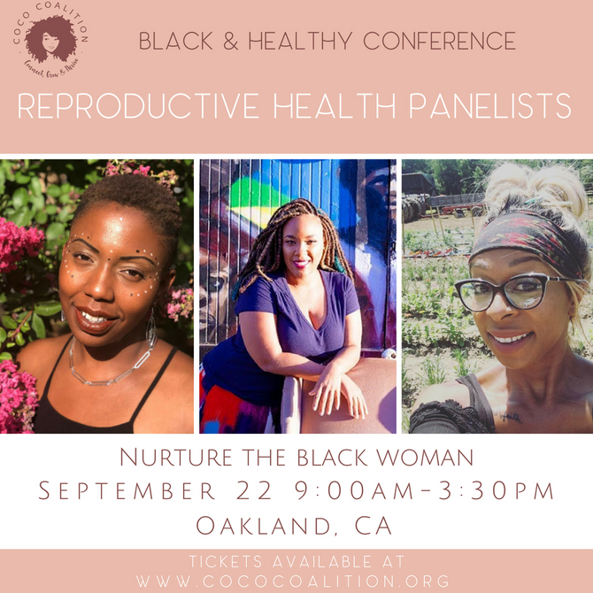 Marlee-I Mystic on Panel at The Black & Healthy Conference