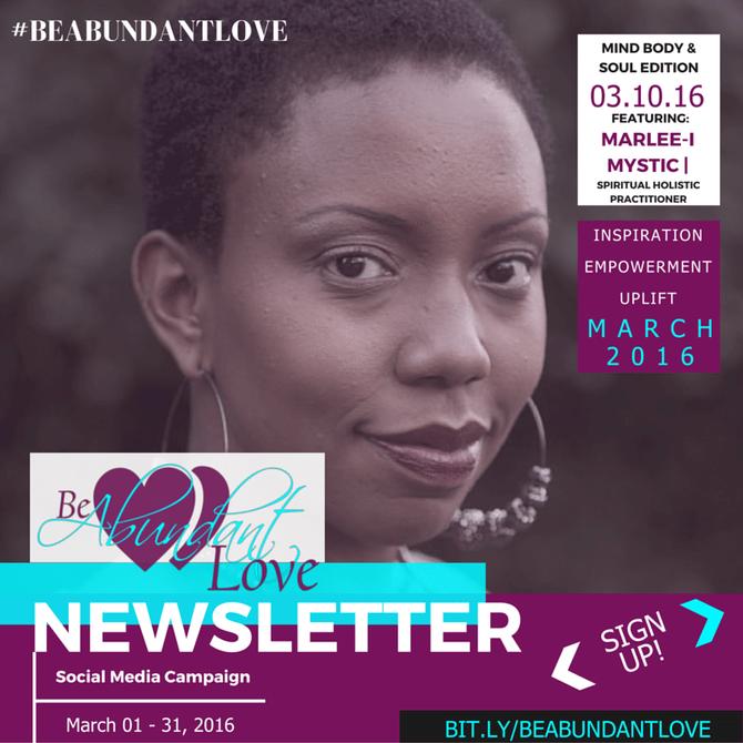 #BeAbundantLove | Social Media Campaign Featuring Marlee-I Mystic