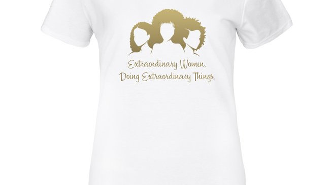 """""""Extraordinary Women"""" T-Shirt"""