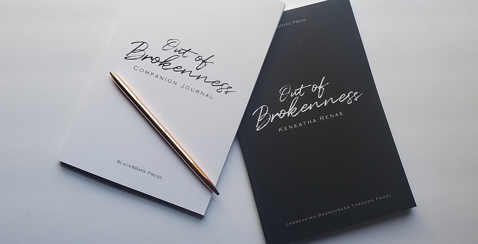 Out of Brokenness - Book & Journal Set (SIGNED)