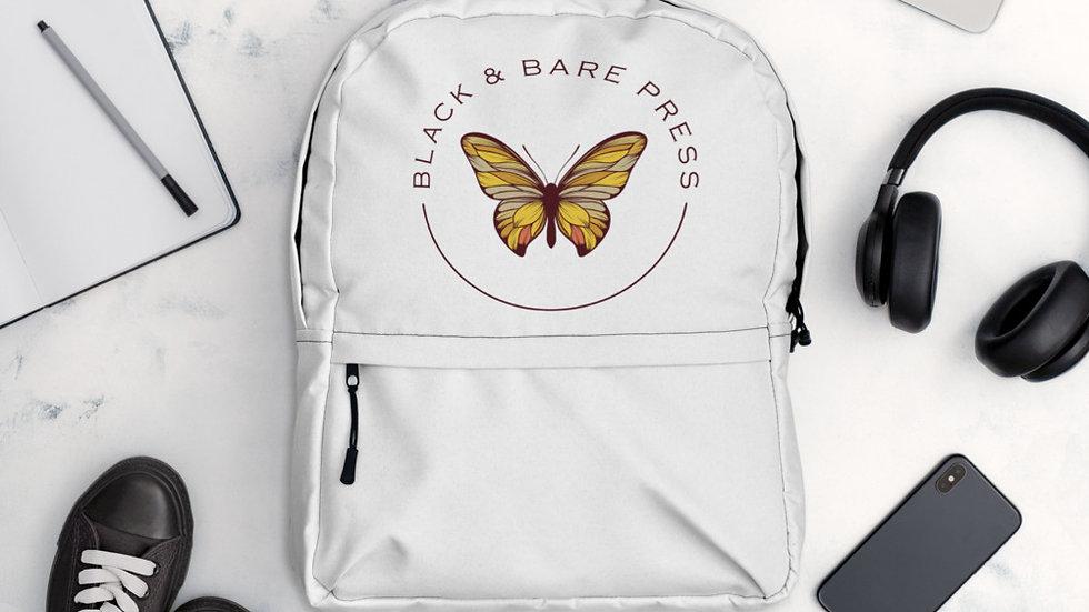 Black & Bare Logo Backpack