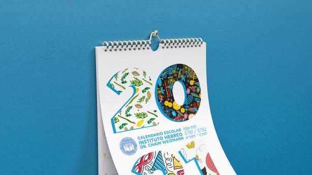 Calendario 2021 Instituto Hebreo