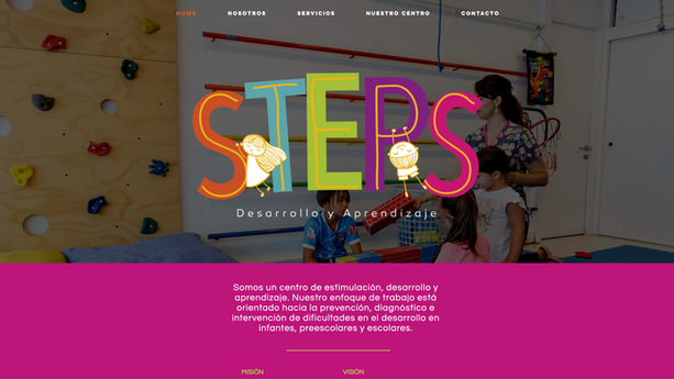 Sitio web STEPS
