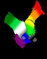 Aromantic/Gay Solidarity