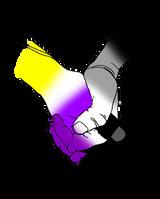 Nonbinary/Asexual Solidarity