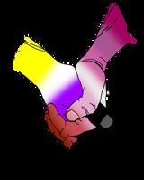 Nonbinary/Lesbian Solidarity
