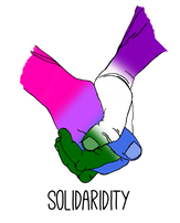Bisexual/Genderqueer Solidarity