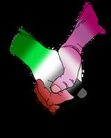 Aromantic/Lesbian Solidarity