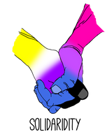 Nonbinary/Bisexual Solidarity