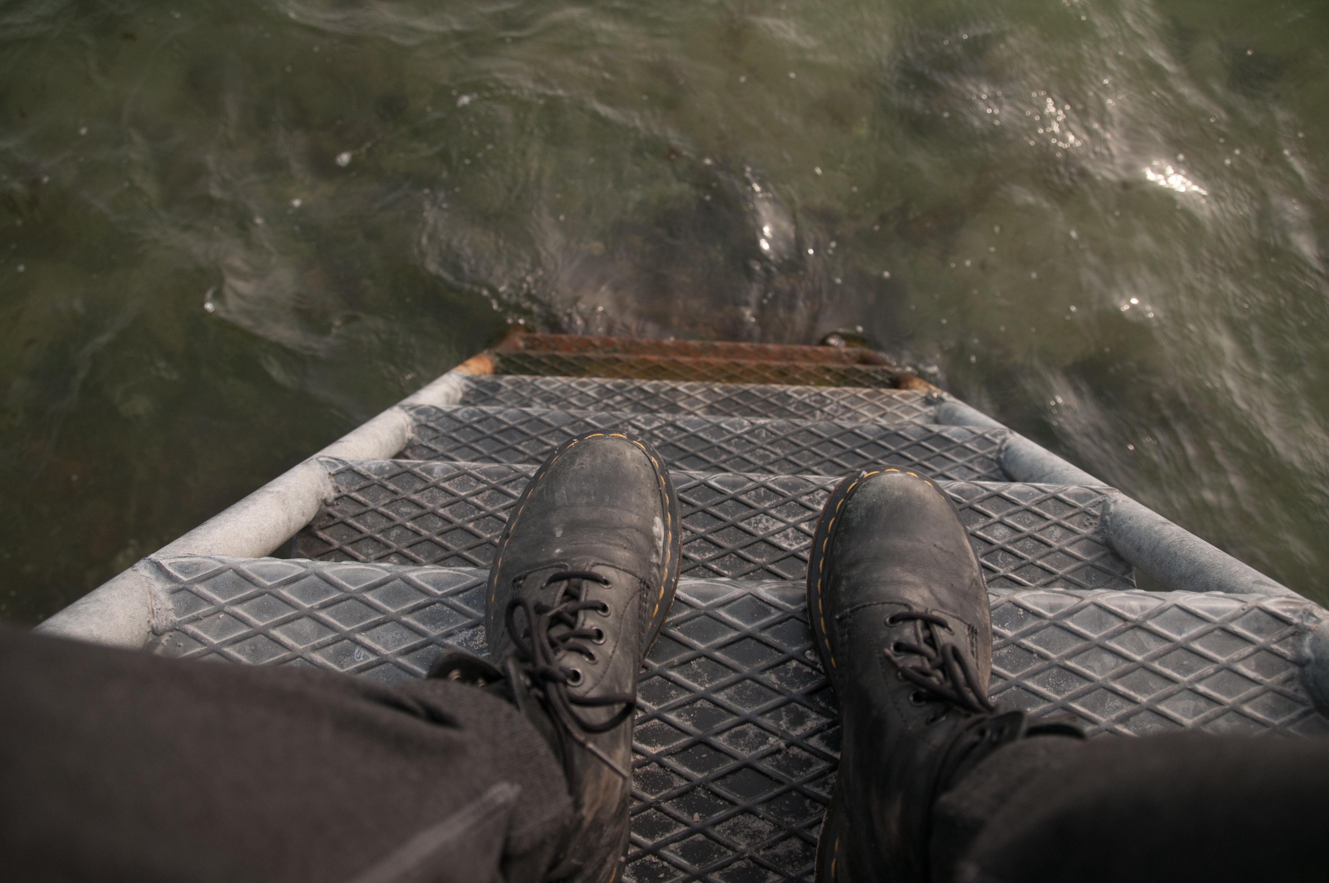 Boots in the Ocean