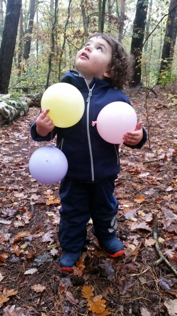 Lua mit Ballons