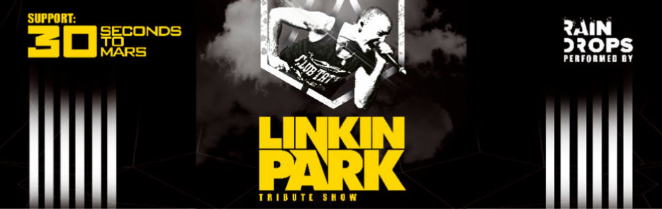 LINKIN PARK TRIBUTE SHOW у виконанні гурту RAIN DROPS (м.Одеса) вперше з концертами в Чехії та Словаччині