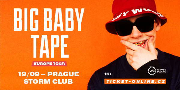 2019.09.19 Big Baby Tape (Prague) Banner